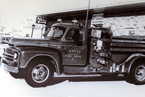 Fridley Vintage Fire Engine
